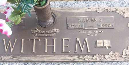 WITHEM (VETERAN WWII), WILBURN S - White County, Arkansas   WILBURN S WITHEM (VETERAN WWII) - Arkansas Gravestone Photos