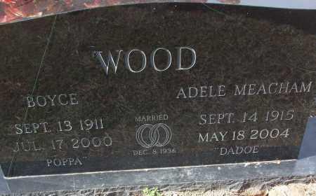 MEACHAM WOOD, ADELE - White County, Arkansas   ADELE MEACHAM WOOD - Arkansas Gravestone Photos