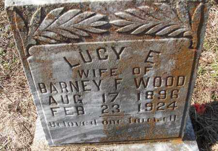 WOOD, LUCY E. - White County, Arkansas   LUCY E. WOOD - Arkansas Gravestone Photos