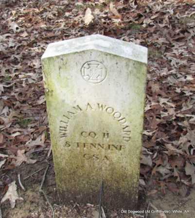 WOODARD (VETERAN CSA), WILLIAM A - White County, Arkansas   WILLIAM A WOODARD (VETERAN CSA) - Arkansas Gravestone Photos