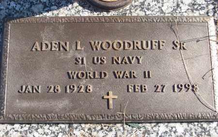 WOODRUFF, SR  (VETERAN WWII), ADEN L - White County, Arkansas | ADEN L WOODRUFF, SR  (VETERAN WWII) - Arkansas Gravestone Photos