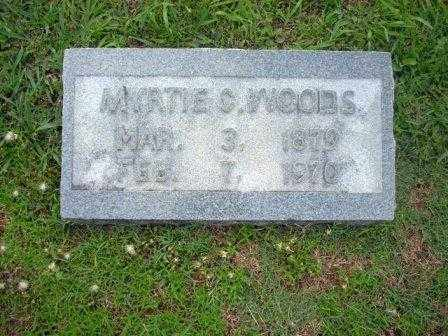 CAMPBELL WOODS, MYRTIE - White County, Arkansas | MYRTIE CAMPBELL WOODS - Arkansas Gravestone Photos