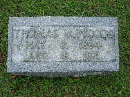 WOODS, THOMAS - White County, Arkansas | THOMAS WOODS - Arkansas Gravestone Photos