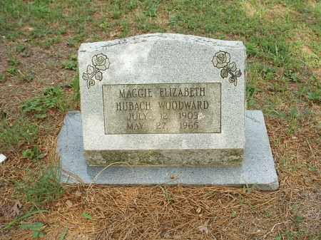WOODWARD, MAGGIE ELIZABETH - White County, Arkansas | MAGGIE ELIZABETH WOODWARD - Arkansas Gravestone Photos