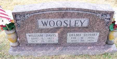 WOOLSEY  (VETERAN WWII), WILLIAM DAVIS - White County, Arkansas | WILLIAM DAVIS WOOLSEY  (VETERAN WWII) - Arkansas Gravestone Photos