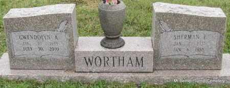 WORTHAM, GWENDOLYN ANN - White County, Arkansas   GWENDOLYN ANN WORTHAM - Arkansas Gravestone Photos