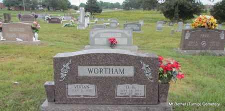 WORTHAM, O B - White County, Arkansas | O B WORTHAM - Arkansas Gravestone Photos
