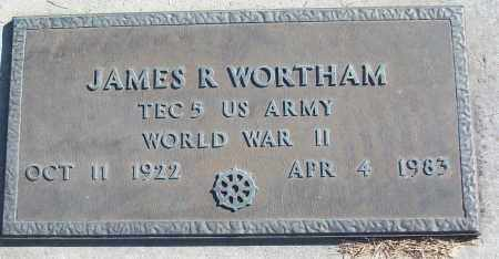 WORTHAM (VETERAN WWII), JAMES R - White County, Arkansas | JAMES R WORTHAM (VETERAN WWII) - Arkansas Gravestone Photos