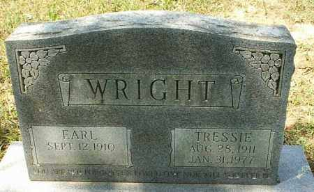 WRIGHT, EARL - White County, Arkansas | EARL WRIGHT - Arkansas Gravestone Photos