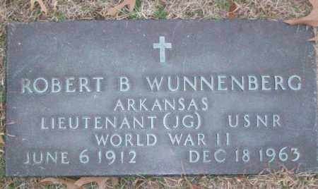 WUNNENBURG (VETERAN WWII), ROBERT B - White County, Arkansas | ROBERT B WUNNENBURG (VETERAN WWII) - Arkansas Gravestone Photos