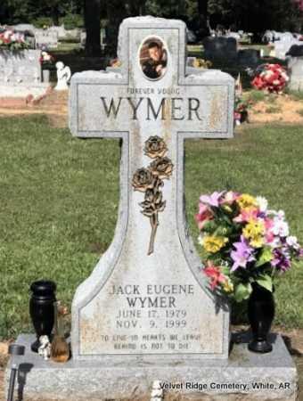 WYMER, JACK EUGENE - White County, Arkansas   JACK EUGENE WYMER - Arkansas Gravestone Photos