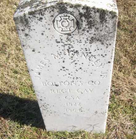 YANCEY, JR  (VETERAN CSA), JAMES M - White County, Arkansas   JAMES M YANCEY, JR  (VETERAN CSA) - Arkansas Gravestone Photos