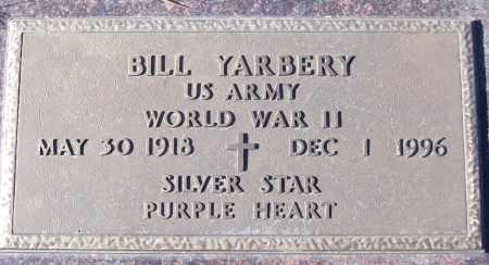 YARBERY (VETERAN WWII), BILL - White County, Arkansas | BILL YARBERY (VETERAN WWII) - Arkansas Gravestone Photos
