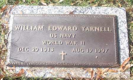 YARNELL   (VETERAN WWII), WILLIAM EDWARD - White County, Arkansas | WILLIAM EDWARD YARNELL   (VETERAN WWII) - Arkansas Gravestone Photos