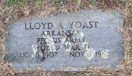 YOAST (VETERAN WWII), LLOYD A - White County, Arkansas | LLOYD A YOAST (VETERAN WWII) - Arkansas Gravestone Photos