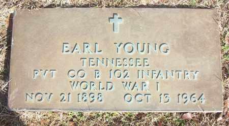 YOUNG (VETERAN WWI), EARL - White County, Arkansas   EARL YOUNG (VETERAN WWI) - Arkansas Gravestone Photos