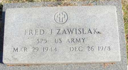 ZAWISLAK  (VETERAN), FRED J - White County, Arkansas   FRED J ZAWISLAK  (VETERAN) - Arkansas Gravestone Photos