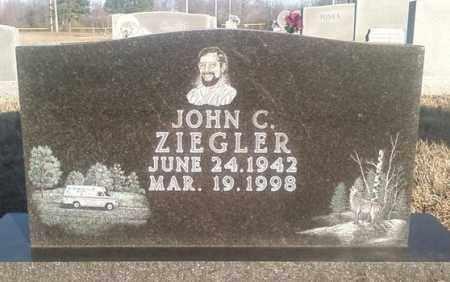 ZIEGLER, JOHN C. - White County, Arkansas   JOHN C. ZIEGLER - Arkansas Gravestone Photos