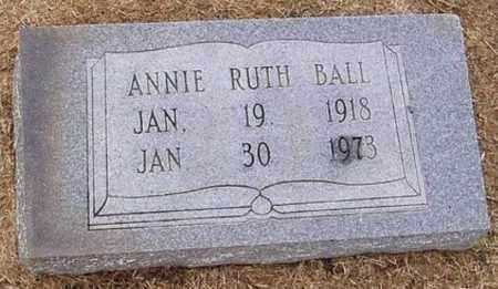 BALL, ANNIE RUTH - Woodruff County, Arkansas | ANNIE RUTH BALL - Arkansas Gravestone Photos