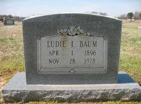BAUM, LUDIE I - Woodruff County, Arkansas | LUDIE I BAUM - Arkansas Gravestone Photos