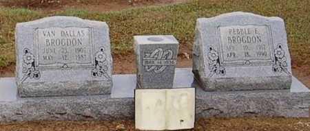 BROGDON, VAN DALLAS - Woodruff County, Arkansas | VAN DALLAS BROGDON - Arkansas Gravestone Photos
