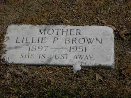 CHARLES BROWN, LILLIE P. - Woodruff County, Arkansas | LILLIE P. CHARLES BROWN - Arkansas Gravestone Photos