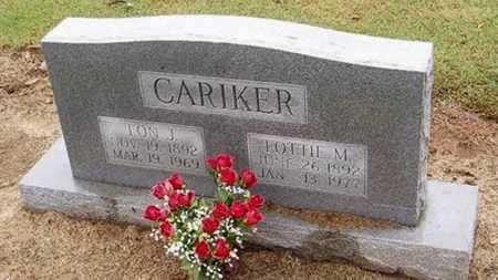 CARIKER, LON J. - Woodruff County, Arkansas   LON J. CARIKER - Arkansas Gravestone Photos