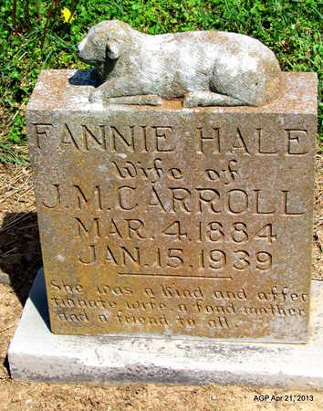 HALE CARROLL, FANNIE - Woodruff County, Arkansas | FANNIE HALE CARROLL - Arkansas Gravestone Photos