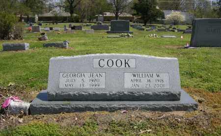 COOK, GEORGIA JEAN - Woodruff County, Arkansas | GEORGIA JEAN COOK - Arkansas Gravestone Photos