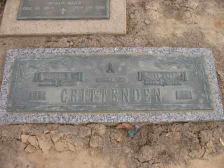 CRITTENDEN, LEE ELLA - Woodruff County, Arkansas | LEE ELLA CRITTENDEN - Arkansas Gravestone Photos