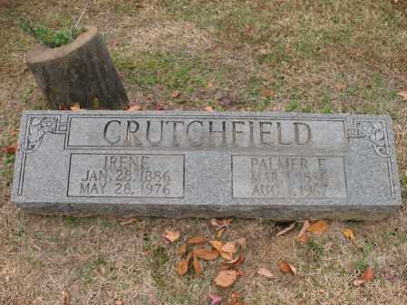 CRUTCHFIELD, IRENE - Woodruff County, Arkansas | IRENE CRUTCHFIELD - Arkansas Gravestone Photos