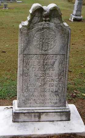 DAVIS (VETERAN WWI, KIA), WILLIAM H - Woodruff County, Arkansas | WILLIAM H DAVIS (VETERAN WWI, KIA) - Arkansas Gravestone Photos