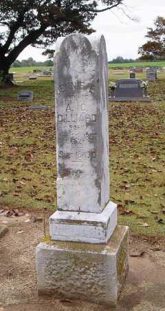 DILLIARD, JENNIE E. - Woodruff County, Arkansas | JENNIE E. DILLIARD - Arkansas Gravestone Photos