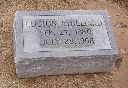 DILLIARD, LUCIUS J. - Woodruff County, Arkansas   LUCIUS J. DILLIARD - Arkansas Gravestone Photos