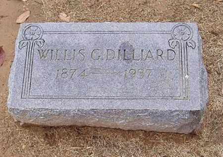 DILLIARD, WILLIS G. - Woodruff County, Arkansas | WILLIS G. DILLIARD - Arkansas Gravestone Photos