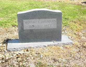 DRENNAN, MOLLIE  T. - Woodruff County, Arkansas   MOLLIE  T. DRENNAN - Arkansas Gravestone Photos