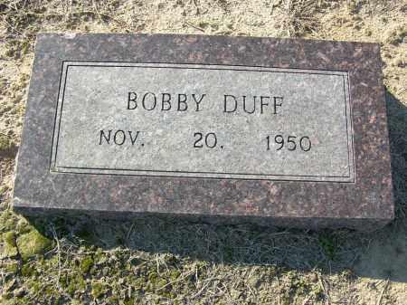 DUFF, BOBBY - Woodruff County, Arkansas | BOBBY DUFF - Arkansas Gravestone Photos