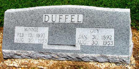 DUFFEL, GUY - Woodruff County, Arkansas | GUY DUFFEL - Arkansas Gravestone Photos