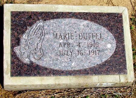 DUFFEL, MARIE - Woodruff County, Arkansas | MARIE DUFFEL - Arkansas Gravestone Photos