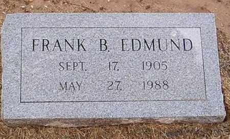 EDMUND, FRANK B. - Woodruff County, Arkansas | FRANK B. EDMUND - Arkansas Gravestone Photos