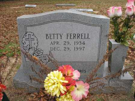 FERRELL, BETTY - Woodruff County, Arkansas | BETTY FERRELL - Arkansas Gravestone Photos
