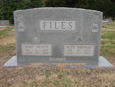 FILES, RUTH BARNARD - Woodruff County, Arkansas | RUTH BARNARD FILES - Arkansas Gravestone Photos