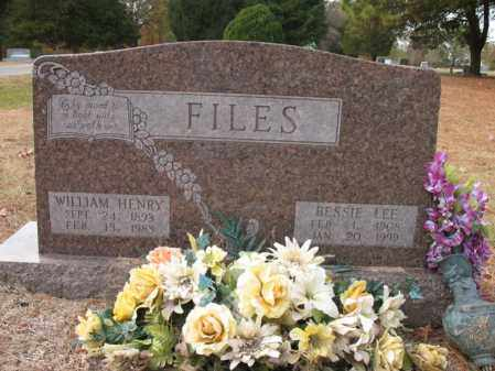 FILES, WILLIAM HENRY - Woodruff County, Arkansas | WILLIAM HENRY FILES - Arkansas Gravestone Photos