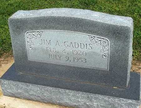 GADDIS, JIM A. - Woodruff County, Arkansas   JIM A. GADDIS - Arkansas Gravestone Photos