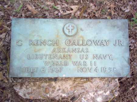 GALLOWAY, JR (VETERAN WWII), CHARLES RENCH - Woodruff County, Arkansas | CHARLES RENCH GALLOWAY, JR (VETERAN WWII) - Arkansas Gravestone Photos