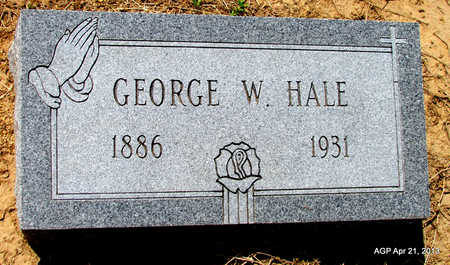 HALE, GEORGE W. - Woodruff County, Arkansas | GEORGE W. HALE - Arkansas Gravestone Photos