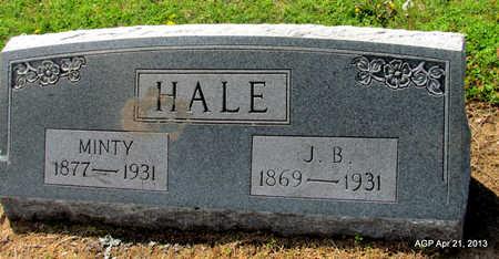HALE, J. B. - Woodruff County, Arkansas | J. B. HALE - Arkansas Gravestone Photos