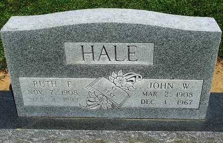 HALE, RUTH F. - Woodruff County, Arkansas | RUTH F. HALE - Arkansas Gravestone Photos