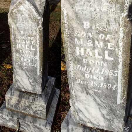 HALL, B - Woodruff County, Arkansas | B HALL - Arkansas Gravestone Photos
