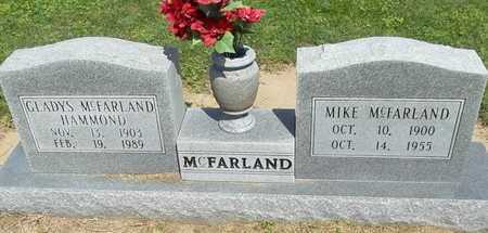 MCFARLAND, GLADYS - Woodruff County, Arkansas | GLADYS MCFARLAND - Arkansas Gravestone Photos